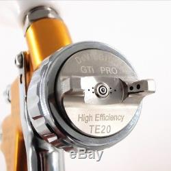 1.3mm Devilbiss Air Gun Paint Sprayer GTI Pro Lite HD-2 HVLP TE20 Water Spray