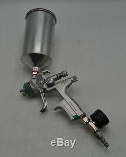 2 GUNS - Sata Jet 5000 B HVLP Paint Spray Gun 1.3 Tip and Anest Iwata AZ3 HTE2