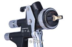 5000B Gravity Spray Gun HVLP Car Paint Gun 1.3tip 600ml Painted Made In Germany
