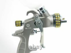 ATOM Mini X16 Professional Mini Spray Gun HVLP with FREE GUNBUDD