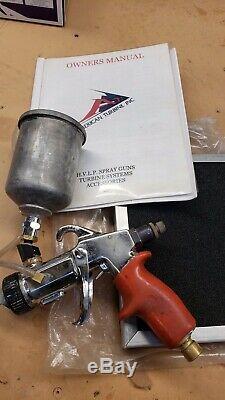 American turbine AT-950 HVLP +2 spray guns 226 +Titan CapSpray Maxim II gun