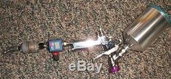 Anest Iwata Basecoat HVLP Spray Gun LPH400-LVB with Cup 1.4 Tip