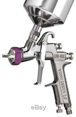 Anest Iwata Basecoat HVLP Spray Gun LPH400-LVB with Cup 1.4 Tip 5707