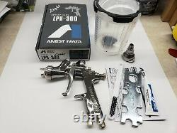 Anest Iwata LPH300LV Gravity Feed HVLP Paint Spray Gun ONLY with 1.3mm Nozzle 3955
