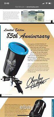 Anest Iwata LPH400-LVX Limited Edition Charley Hutton HVLP Spray Gun 1.3 Tip #