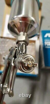 Anest Iwata LPH80 104G HVLP Mini Gravity Feed Gun with 150ml Cup 1.0mm nozzle