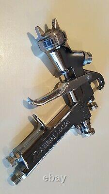 Anest Iwata LPH-400 Paint Spray Gun with LPH-400-LV4 HVLP Cap 1.4mm Tip