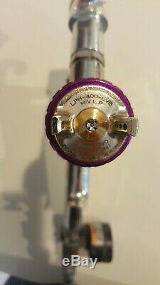 Anest iwata lph-400-lvb Hvlp Spray Gun 1.3 Purple Cap