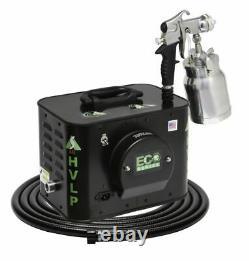 Apollo Sprayers HVLP ECO-4 4-Stage Turbine Paint Spray System, E5011 Spray Gun