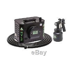 Apollo Sprayers HVLP ECO-5 5-Stage Turbine Paint Spray System, A6000 Spray Gun