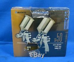 Binks 98-3170 SV50 HVLP Pro Series Gravity Spray Gun Kit