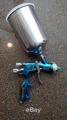 Binks Trophy Series Hvlp Gravity-fed Air Spray Gun (32h Air Cap)