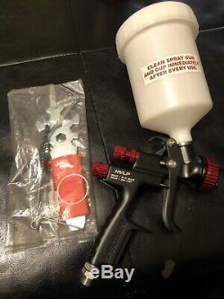 Black Widow BW-HVLP-1.7 Professional HVLP Gravity Feed Air Spray Gun