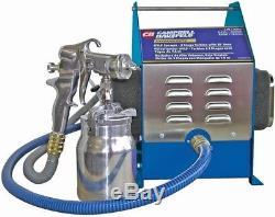 Campbell hausfeld professional 4 stage hvlp spray system, turbine hose gun