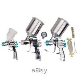 DeVILBISS Startingline HVLP Spray 3-Gun Set #3422-00