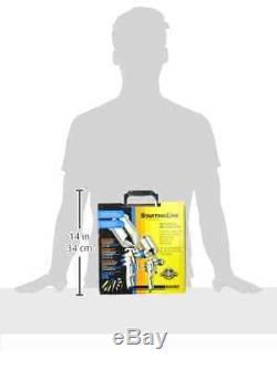 DeVilbiss 802342 StartingLine HVLP Gravity Spray Gun Kit Auto Car Paint Set, NEW