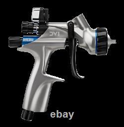 DeVilbiss Basecoat Paint Spray Gun DV1 with DV1-B PLUS HVLP Air Cap 704504 NEW