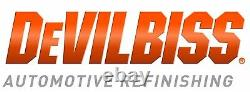 DeVilbiss DV1 HVLP 1.2mm B PLUS Gravity Feed Spray Gun Basecoat B+ Air Cap Withcup