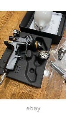 DeVilbiss Digital DV1 Basecoat Paint Spray Gun DV1-B PLUS HVLP Cap