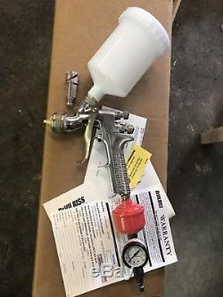 DeVilbiss GTi-620G Millennium HVLP Auto Paint Spray Gun with extras