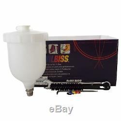 DeVilbiss GTi ProLite Red ALIEN HV30 HVLP Waterbase Basecoat Spray Gun 1.2/1.3mm