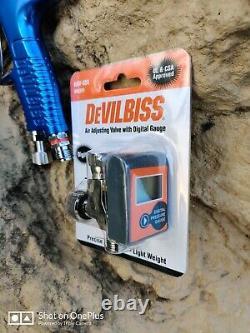 DeVilbiss Prolite GTE10 with 1.2, 1.3, 1.4 Nozzles + 900 cc Al Cup Replaces 703566
