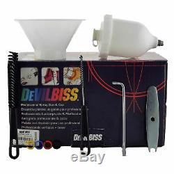 DeVilbiss SRI Pro Lite HV5 Air Cap 0.8mm Fluid Tip HVLP Air Spray Paint Gun
