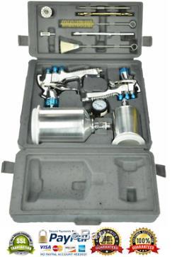 DeVilbiss StartingLine HVLP Gravity Spray Gun Kit Auto Car Paint Set