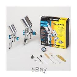 DeVillbiss 802342 StartingLine HVLP Gravity Automotive Spray Gun Kit