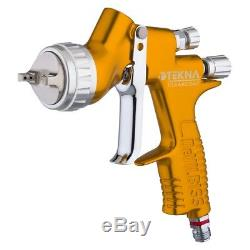 Devilbiss 704198 Tekna Clearcoat Spray Gun HVLP Uncupped, 1.2,1.3, 1.4, HAV-555