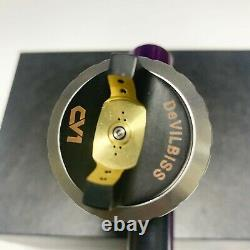 Devilbiss CV1 HVLP 1.3mm Nozzle Car Paint Tool Pistol Spray Gun Purple