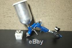 Devilbiss Compact 1.4 Spray gun with HVLP & TRANS-TECH Air Caps