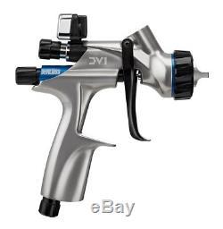 Devilbiss DV1 Auto Body HVLP Spray Gun 704504 1.2 1.3 1.4 tip, Digital Gauge