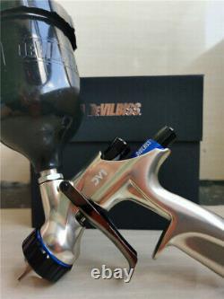 Devilbiss DV1-B Basecoat HVLP Gravity Feed Spray Gun 1.3mm 600ml cup new 2020
