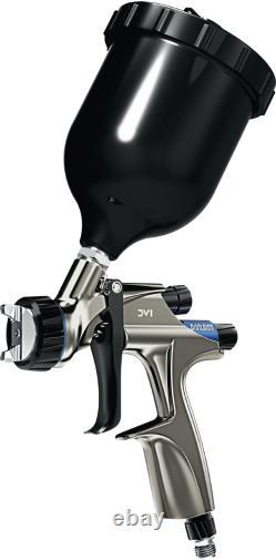 Devilbiss DV1 Basecoat HVLP Gravity Feed Spray Gun 1.3mm usd for car 600ml cup