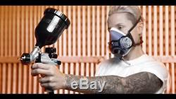Devilbiss DV1 Spray Gun 1.2 mm HVLP DV1-C-000-12-B+ Non-Digital + Pressure Gauge