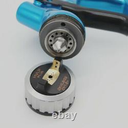 Devilbiss DV 1 HVLP 1.3mm Blue Car Paint Tool Pistol Spray Gun Made in China NEW