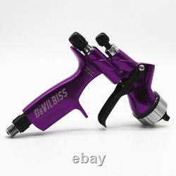 Devilbiss DV 1 HVLP 1.3mm Purple Car Paint Tool Pistol Spray Gun Made in China