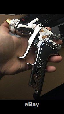 Devilbiss FLG-670 FinishLine Solvent-Based (HVLP) 1.3 Clear Coat Gun As Sata new