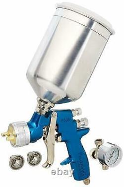 Devilbiss Finishline 4 FLG-670 Solvent Based HVLP Gravity Feed Paint Gun New
