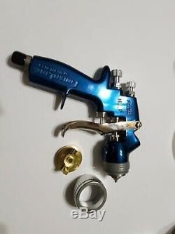 Devilbiss Finishline Solvent Based HVLP Gravity Feed Paint Gun 3 Tips