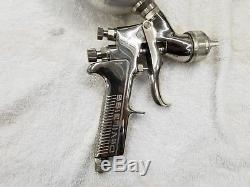 Devilbiss GTI Millennium HVLP Auto Paint Spray Gun Gravity Feed Cup Extras 4 Tip