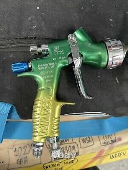 Devilbiss Gti Pro Lite Gravity Spray Gun 1.3mm Fluid Tip with Hvlp Cap Brazil