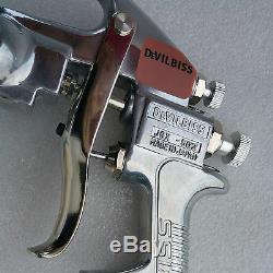 Devilbiss JGX-502 1.4mm Nozzle Gravity Type Automotive Paint Spray Gun HVLP New