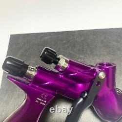 Devilbiss Purple CV1 HVLP 1.3mm Nozzle Car Paint Tool Pistol Spray Gun