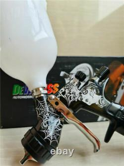 Devilbiss Spray Gun GTI PRO LITE Black 1.3mm nozzle LVMP Car Paint Tool Pistol T
