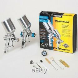 Devilbiss StartingLine HVLP Automotive Spray Painting Gun Kit 802343