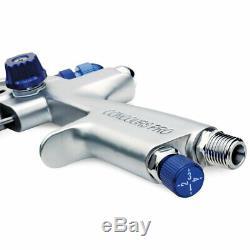 Eastwood Concours Pro HVLP Paint Gun 1.3MM Steel Construction 600CC Cup