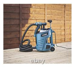 Erbauer 700W HVLP Electric Spray Gun Paint Sprayer 0.8L Garden Patio Wood Metal