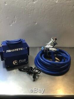 Fuji Spray Mini-Mite 3 HVLP Turbine Paint Sprayer Hose Gravity Gun #WH1